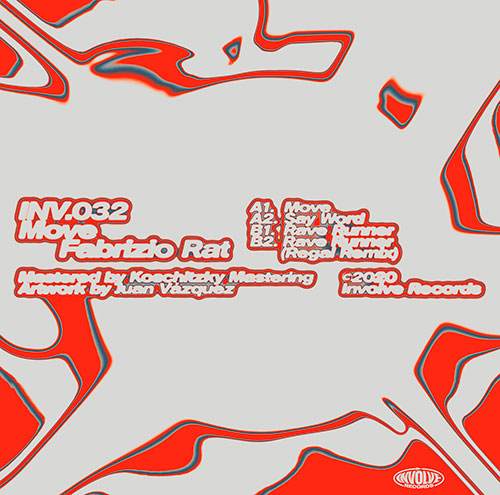 Involve Records - INV032 THE MOVE - BACK