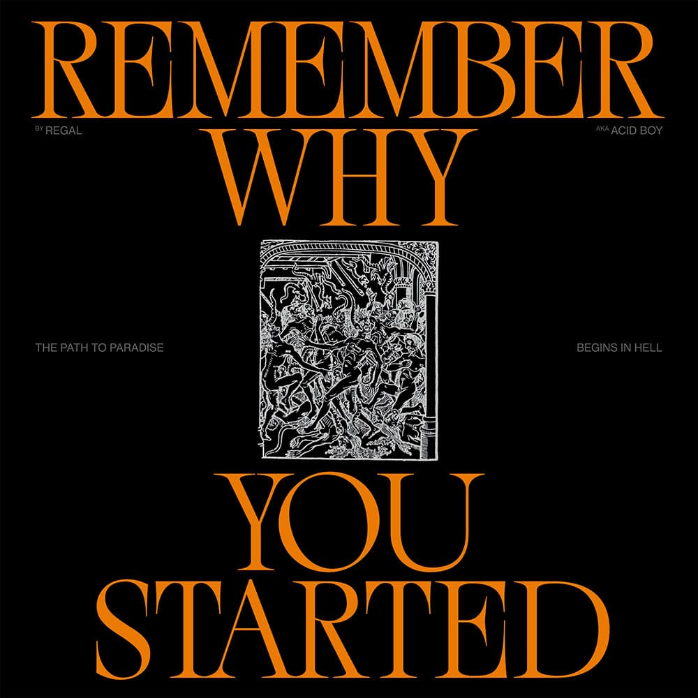 Album cover: REMEMBER WHY YOU STARTED