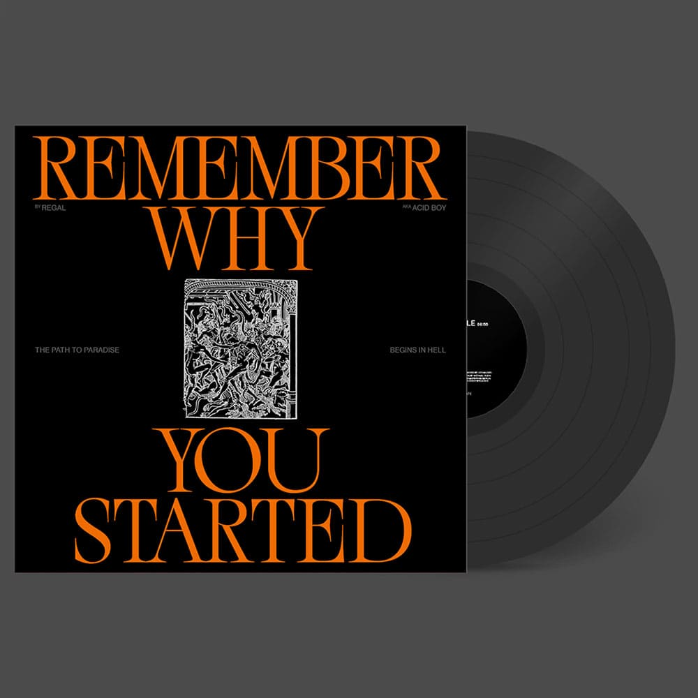 Vinyl: REMEMBER WHY YOU STARTED